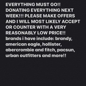 CCO DAY SEND OFFERS!!